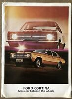1971 Ford Cortina original South African sales brochure