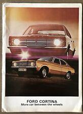 1971 Ford Cortina original sales brochure