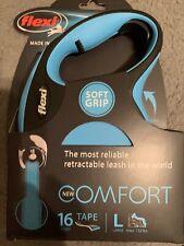 New listing New - Flexi Soft Grip Comfort Retractable 16' Tape Leash Large + Led Light!