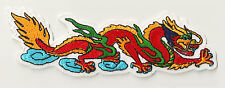 Badge Dragon Celestial Fusible Patch Embellishment Embroidered Embroidery