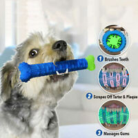Dog Chew Toys Pet Molar Tooth Cleaner Brushing Stick Dog Toothbrush Doggy Puppy