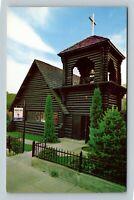 Chelan WA, St Andrews Episcopal Church, Chrome Washington Postcard