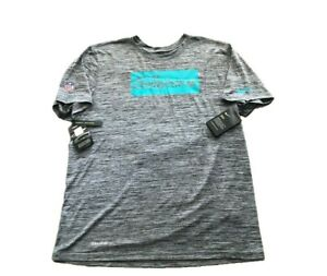 NWT New Miami Dolphins Nike Dri-Fit Sideline Velocity Large Performance T-Shirt