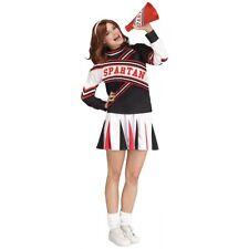 Deluxe Spartan Cheer Female Costume Saturday Night Live Halloween Fancy Dress