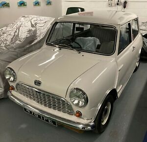Classic Austin Mini Seven Mk1 Saloon 850cc Restored as Original December 1960