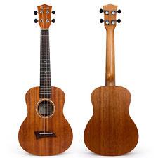 Solid Mahogany Top Tenor Ukulele 26 inch Hawaii Guitar Rosewood Bridge Matt