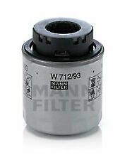 Oil Filter W712/93 Mann 03C115561B 03C115561J Genuine Top Quality Replacement