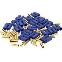 10 Pairs Male Female EC5 Style Connector 20 Pairs 5.0mm 5mm Gold Bullet Plug ESC