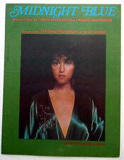 MELISSA MANCHESTER Sheet Music MIDNIGHT BLUE Charles Hansen Publ. 70's POP