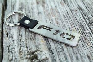 BMW F10 Schlüsselanhänger stainless steel car keyring sedan saloon M5 530 525 v8