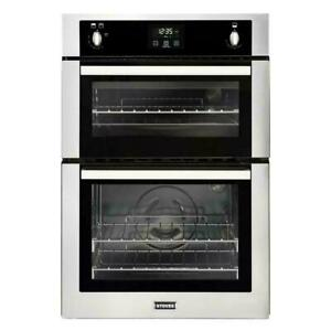 Stoves BI900 G Stainless Steel Double Built In Gas Oven 444444842