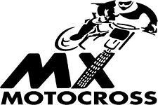 2 x MX MOTOCROSS - CAR - VAN - TRAILER - BODY PANEL - BONNET - WALL ART