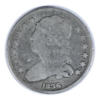1836 Capped Bust Quarter Very Good