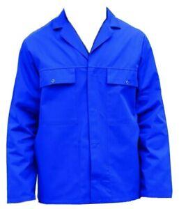 DRIVERS JACKET / WORK JACKET - DARK ROYAL BLUE - BRITISH WORKWEAR BARGAIN - JK9