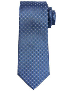 NWT Banana Republic New $59.50 Men Multi Geo Silk Nanotex Tie