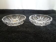 Vintage/Retro RCR Crystal candle holders made in Italy