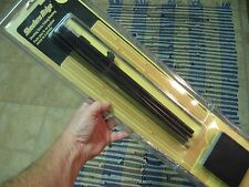 "Shooters Ridge 36"" Sitting/Kneeling Black Shooting Sticks & Belt Pouch Case"