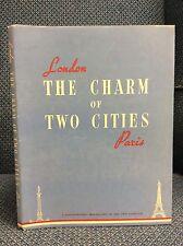 THE CHARM OF TWO CITIES - LE CHARME DE DEUX CITES By Zenith Studios - ca. 1950