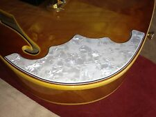Telecaster Tele Thinline Pearl White No Holes Armrest for Fender Guitar Project