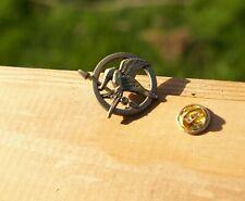 """Hunger Games Mockingjay Metal 1 1/8"""" Lapel Pin Pinback"""