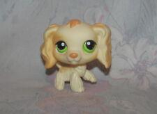LPS Littlest Pet Shop #347 Blonde Cocker Spaniel Dog Puppy - Light Yellow