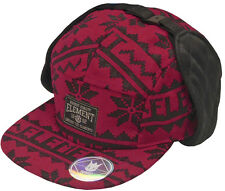 J1148 - Element Fargo Hat / Cap * NWT Adult One Size Red / Black - #19817