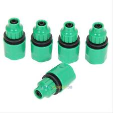 5x Water Tubing Pipe Adapters Connector Garden Hose Patio Drip Irrigation System
