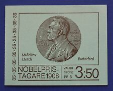 Sweden (806a) 1968 Nobel Prize Winners MNH booklet