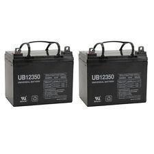 UPG 2 Pack - 12V 35Ah U1 BATTERY MK MU-1SLD M AGM NUT AND TERMINALS