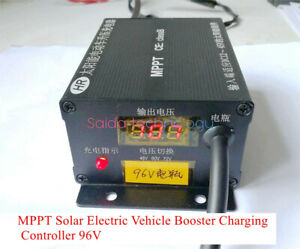 MPPT Solar Electric Vehicle Booster Charging Controller 96V