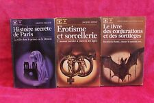 Univers secrets - Lot de 3 - Livre - Occasion