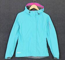 SALOMON GORE-TEX PACLITE SHELL Hooded Waterproof Jacket Women Size M MJ1526