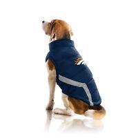 Denver Broncos NFL Little Earth Production Dog Pet Puffer Vest Sizes S-3XL