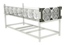 Mining Rig Side Fan Expansion for Aluminum Veddha-Style Frame 140mm Kit, NO FANS