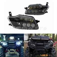 LED High Low Beam Conversion Headlight For Honda Rancher 420 & Foreman 500 Black