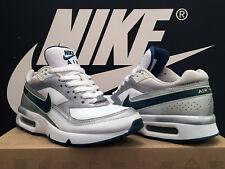 Vintage 2009 Nike Air Classic BW GS UK5 EU38 Blanco Verde Azulado Max Gabber 1 180 97 OG RARO