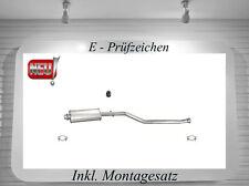 Auspuff Peugeot Partner 1.1 1.4 1.8 ,306 S16 2.0 Mittelschalldämpfer Montagesatz
