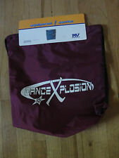NWT! DANCE XPLOSION TALENT COMPETITION BURGUNDY BAG BACKPACK NYLON