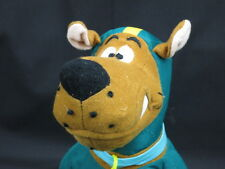 FOOTBALL PLAYER SCOOBY-DOO DOG BLUE GREEN JERSEY HELMET PLUSH STUFFED ANIMAL TOY