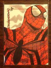 Spiderman, Spider-Man Archives color sketch card 1/1 Dennise Crisostomo