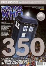 Dr Who Magazine # 350: 8 Dec 2004 SEALED BAGGED with reproduction DW Weekly #1