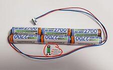 Senderakku mit Stecker MPX Pico Line EVO etc. Panasonic/ Sanyo 2700 mAh 7,2 V