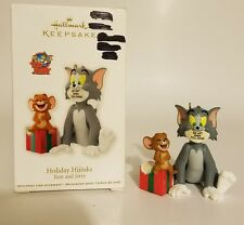 Tom & Jerry Holiday Hijinks 2012 Hallmark Keepsake Xmas Ornament Warner Brothers