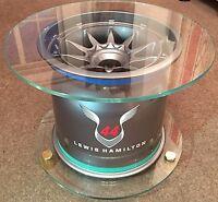 Genuine Used F1 Wheel - Lewis Hamilton 44 Coffee Table / Decorative - C.O.A