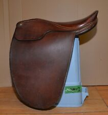 "Cutback Argentina 21"" dressage jumping saddle #1157 English riding collectible"