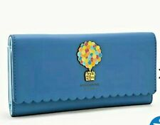 DiSNeY LoUnGeFLy * UP * PiXaR SCALLOPED CLUTCH WALLET / HOUSE & BALLOONS ~ NWT!