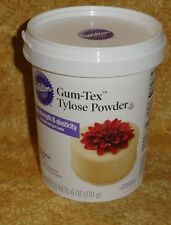 Gum-Tex Tylose Powder, Wilton, New,6 oz., Adds Elasticity/strength.707-118,White