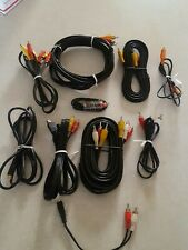 Lot of 10 assorted RCA Audio Video Cables