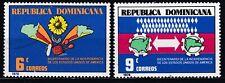 DOMINICAANSE REPUBLIEK  JAAR 1978  NR. Y&T 790 / 791 ** (L11)