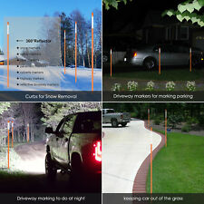 Dcp 20 Pack Highay Markers for Snow Plowing 5/16Inch Dia,4ft Snow Markers
